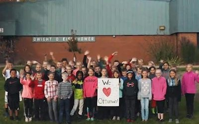 """Ottumwa Fifth-Graders Answer, """"Why Our Town?"""""""