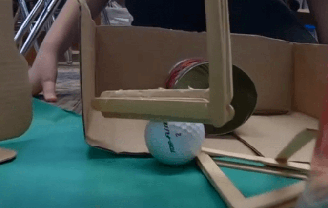 Fore! Central Fourth Graders Design Mini-Golf Holes